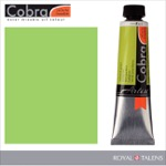 Cobra Water Mixable Oil Color 40ml Yellowish Green