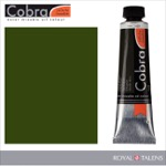 Cobra Water Mixable Oil Color 40ml Olive Green
