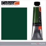 Cobra Water Mixable Oil Color 40ml Sap Green