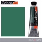 Cobra Water Mixable Oil Color 40ml Chromium Oxide Green