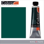 Cobra Water Mixable Oil Color 40ml Phthalo Green