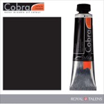 Cobra Water Mixable Oil Color 40ml Ivory Black