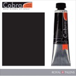 Cobra Water Mixable Oil Color 40ml Lamp Black