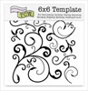 The Crafter's Workshop 6x6 Template - Capricious