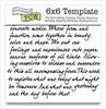 The Crafter's Workshop 6x6 Template - Art Is