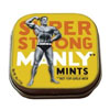 Super Strong Manly Mints (Not for Girlie-Men) with Reusable Tin