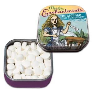 """Curiouser and Curiouser!"" Alice's Enchantmints with Reusable Tin"