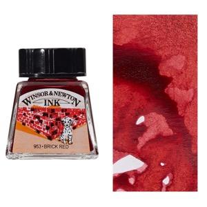 DRAW INK 14ml BRICK RED