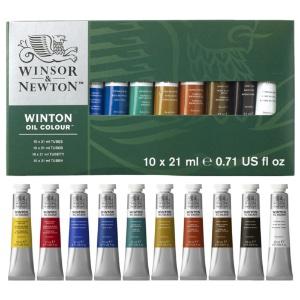 Winton Oil Color Basic Set