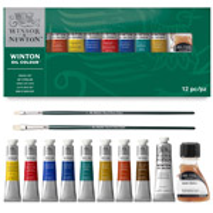 Winton Oil Colour Studio Set