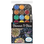 Shimmer & Shine Pearlescent Paint & Stencil Kit