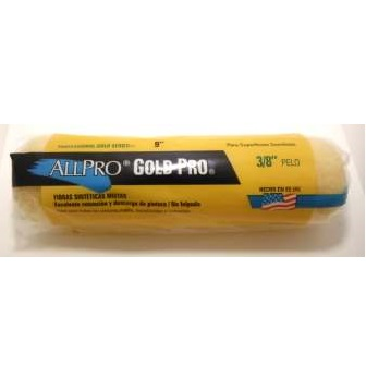 """3/8"""" GOLD PRO ROLLER COVER"""