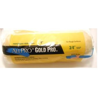 """3/4"""" GOLD PRO ROLLER COVER"""