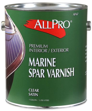 SPAR VARNISH CLEAR SATIN I