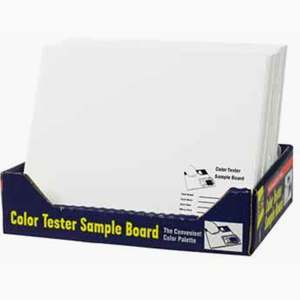12 X 10 COLOR TEST BOARDS EACH