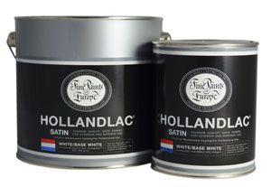 HOLLANDLAC SATIN WHITE BASE .5L