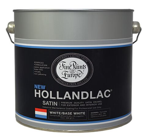 HOLLANDLAC SATIN WHITE BASE 2.5L