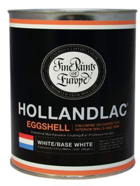 HOLLANDLAC EGGSHELL WHITE1L