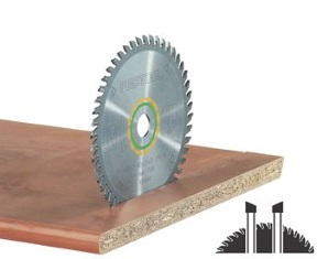 SAW BLADE 48T FINE TOOTH  TS 55