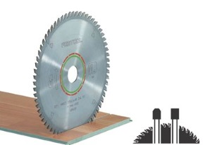 SAW BLADE 48T SOLID SURF  TS 55