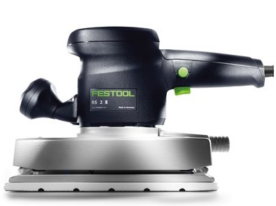 festool rs 2 e orbital sander with 4.5 x 9 inch surface for use on broad surfaces