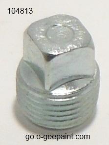 114 - 3/8 PIPE PLUG