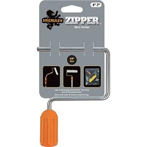 ZIPPER MINI-ROLLER HEAD S