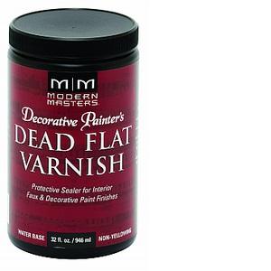 DEAD FLAT INTERIOR VARNISH QT