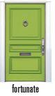 FRONT DOOR - FORTUNATE - GREEN*
