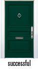 FRONT DOOR PNT- SUCCESSFUL GREEN