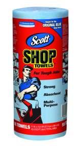 BLUE SHOP TOWELS 55/ROLL