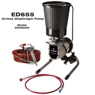 ED655 PLUS SKID 120V 60HZ