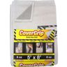 COVERGRIP 5X8' SAFETY DROPCLOTH