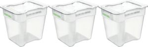 CYCLONE COLLECTION BIN  AND LID