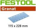 ABR GRANAT 115X228 P150 100X  R