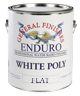 WHITE POLY FLAT GL