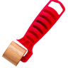 1 x 1/4 RED-FLAT-WOOD SEAM ROLLER