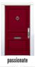 FRONT DOOR PAINT PASSIONATE RED*
