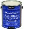 EXTERIOR DEAD FLAT VARNISH
