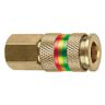 """COMBO 1/4"""" SNAP COUPLER FPT"""