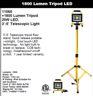 1800 LUMEN 3'-5' TELSCOPIC LIGHT