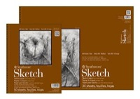 """Jerry/'s Artarama Colossal Deluxe Sketchpad 100 Sheets 9x12/"""""""