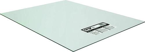 OPTIX 1AG1496A Flat Sheet, 96 in L, 48 in W, 0.118 in Thick, Clear