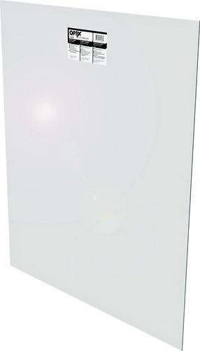 OPTIX 1AG2124A Flat Sheet, 36 in L, 30 in W, 0.22 in Thick, Clear