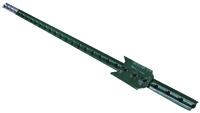 CMC TP125PGN060 T-Post, 1.25 lb/ft Weight Capacity, Steel