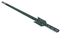 CMC TP125PGN065 T-Post, 1.25 lb/ft Weight Capacity, Steel
