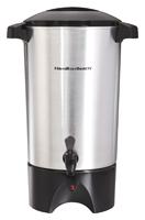 Hamilton Beach 40515 Coffee Urn, 120 V, 1090 W, 30 Cups Capacity, Aluminum