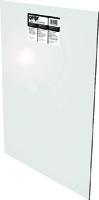 OPTIX 11G0018A Flat Sheet, 24 in L, 18 in W, 0.1 in Thick, Clear