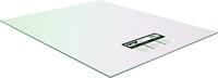 OPTIX 1AG1195A Flat Sheet, 96 in L, 48 in W, 0.1 in Thick, Clear