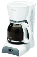 Mr. Coffee SK12-RB Classic Coffee Maker, 12 Cups Capacity, 900 W, White